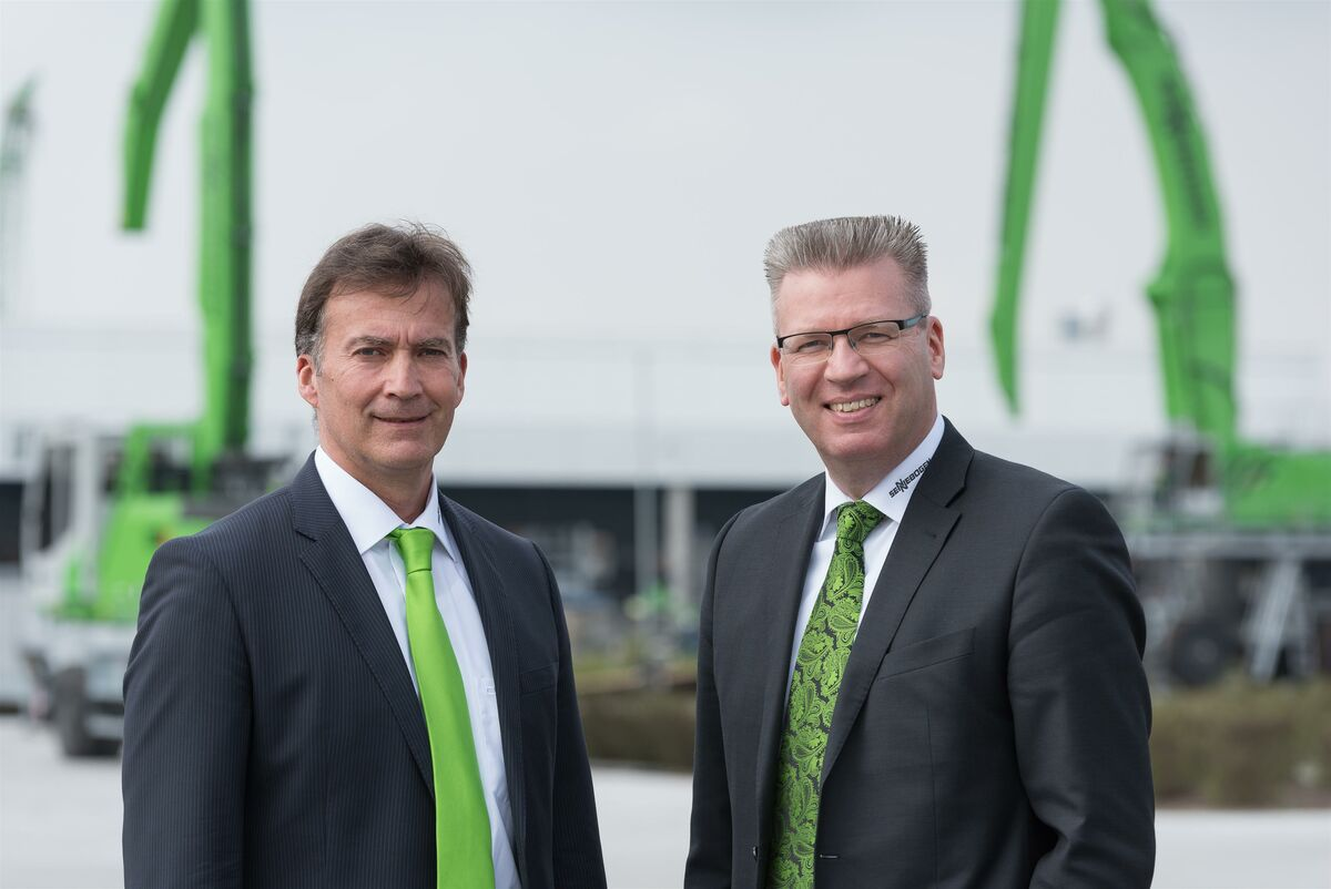 SENNEBOGEN Academy Managing Directors Michael Ibarth and Elmar Hurt